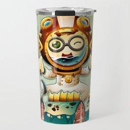 The undersea chef Travel Mug