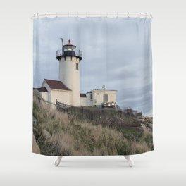 Eastern Point Lighthouse Shower Curtain