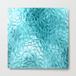 Beautiful metallic  futuristic pattern Metal Print