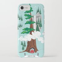the national iPhone & iPod Cases featuring National Parks by Julie's Fabrics & Thingummies
