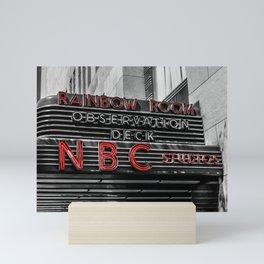 30 Rock Mini Art Print