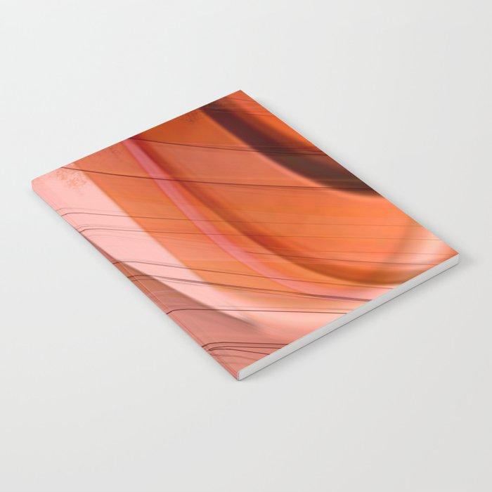 Colorgradient purple and orange Notebook