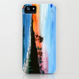 """PEACEFUL LIVING""  iPhone Case"