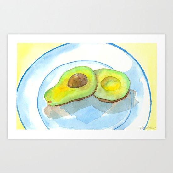 California Avocados Art Print