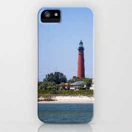 Sunny Day at Ponce Inlet iPhone Case