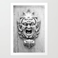 Goblin Door  Art Print