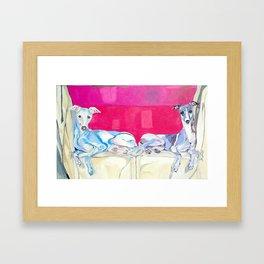 Cheyenne & Chandra Framed Art Print