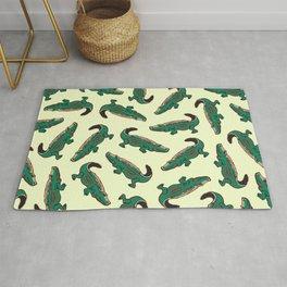 crocodile pattern Rug