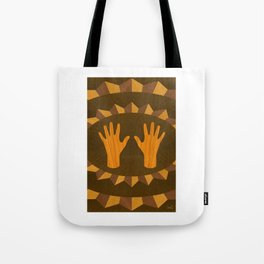 The ASL Marquetry - (ASL Marquetry Series) Tote Bag