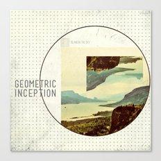 Geometric Inception  Canvas Print