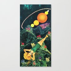 Midnight Sunbath Canvas Print