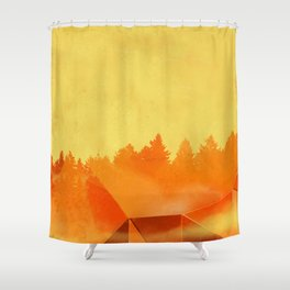 Autumn Equinox Shower Curtain