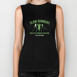 Slow Runners Biker Tank