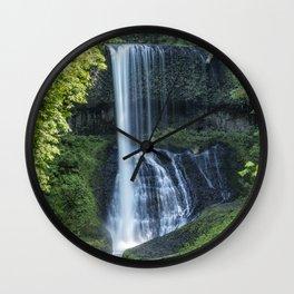 Middle North Falls Wall Clock
