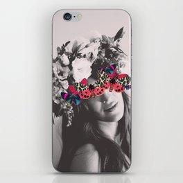 Butterfly Beauty iPhone Skin
