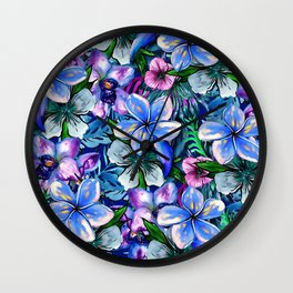 My Tropical Garden 5 - variation Wall Clock