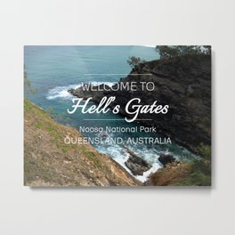 Hell's Gates, Australia Metal Print