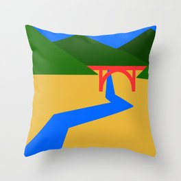 Nature Series: Landscape 2 Throw Pillow