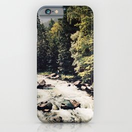 retro Harz poster iPhone Case