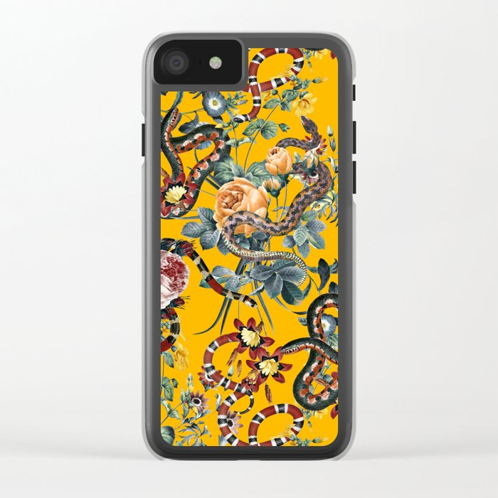 Dangers in the Forest III Clear iPhone Case