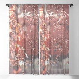 Mosaic Rain Sheer Curtain