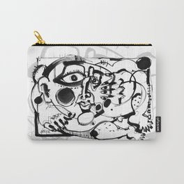 Afternoon Relaxation - b&w Carry-All Pouch
