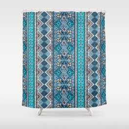 Grand Bazaar - Blue Shower Curtain