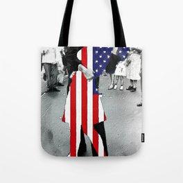 American Woman Acrylic Tote Bag
