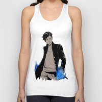 bane Tank Tops featuring Magnus Bane by The Radioactive Peach
