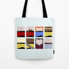 Enterprise 1701 D - Minimalist Star Trek TNG The Next Generation - startrek - Trektangles  Tote Bag