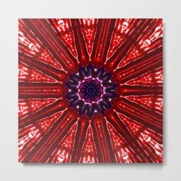 Red Star Kachina Metal Print
