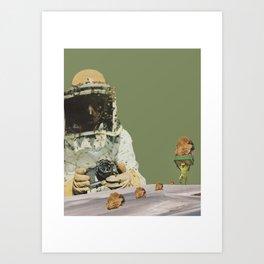 ''The Worker Bee'' 2017 Art Print