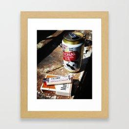 Baltimore Breakfast Framed Art Print