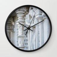 spiritual Wall Clocks featuring Spiritual by Gunjan Marwah