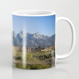 Mormon Row Grand Tetons Coffee Mug
