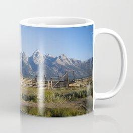 Mormon Row Grand Tetons Coffee Mug