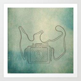 Camera Study no. 1 Art Print