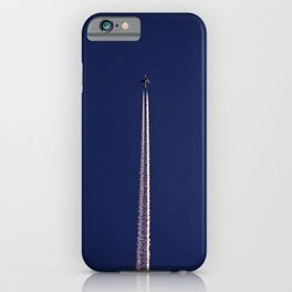 Jet and Contrail iPhone Case