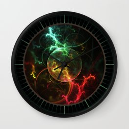 Carniverous Cape Sundew Tentacles in an Ecosphere Wall Clock