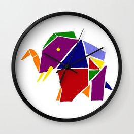 Cool artistic origami Wall Clock