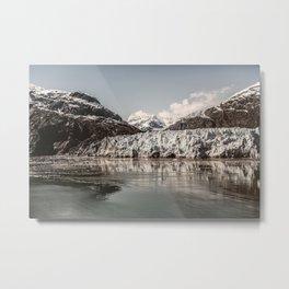 Margerie Glacier Alaska Metal Print