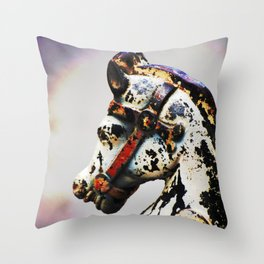Nawlins Steed Throw Pillow