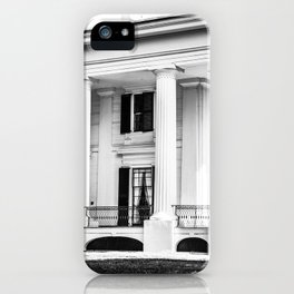 Taylor Grady House in BW iPhone Case