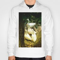 duck Hoodies featuring duck by gzm_guvenc