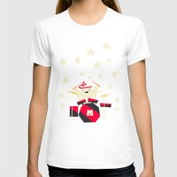drums T-shirts featuring hit the drums!  by Yetiland