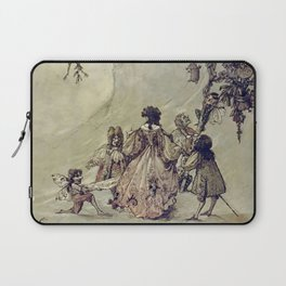 """""""The Fairies Ascent"""" by A. Duncan Carse Laptop Sleeve"""
