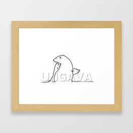 The Ungava Collection: The Polar Bear Family Framed Art Print