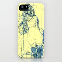 Layla, you got me on my knees iPhone Case