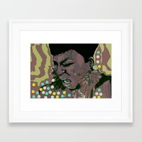 scream Framed Art Prints featuring scream by Iconic Arts