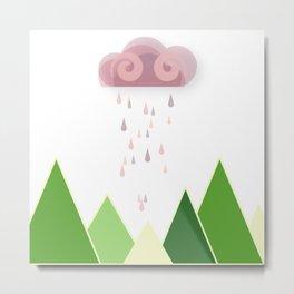 The Last Cloud Metal Print